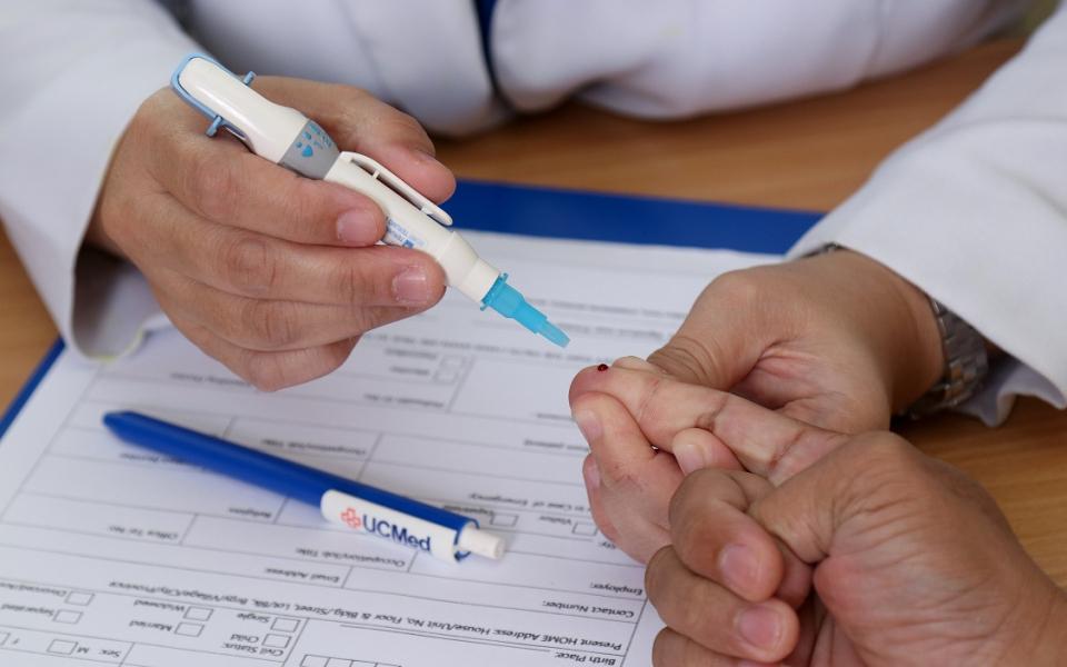 Capillary Blood Glucose Testing