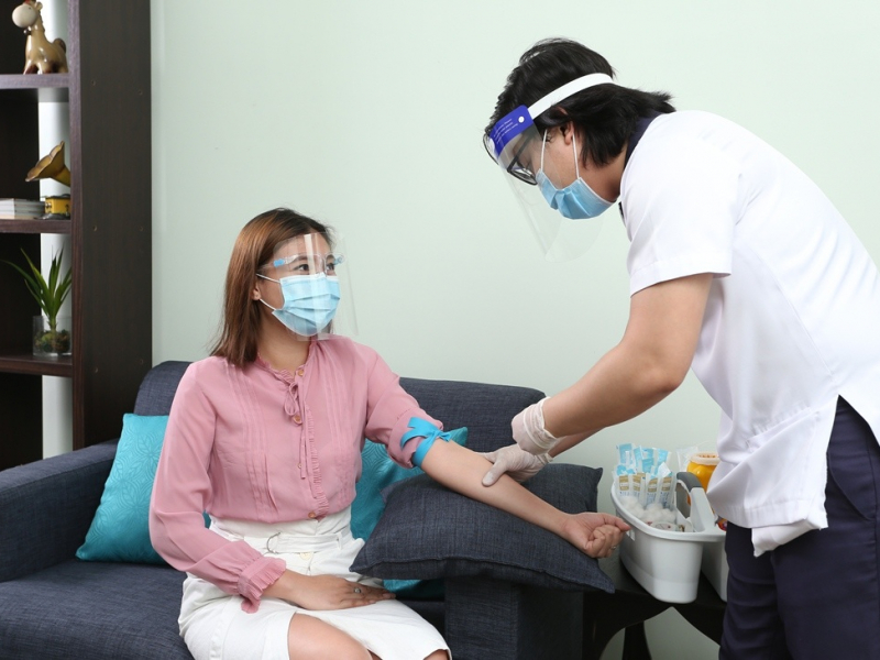 Medical services in the comforts of our executive lounge.